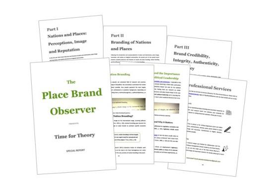 Summary of place branding literature