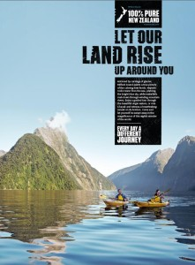 2015 New Zealand destination marketing campaign