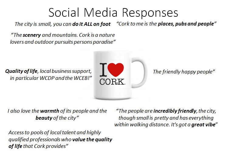 Cork City Region Branding Social Media Feedback
