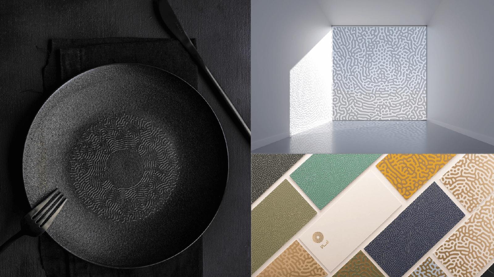 AMAALA crockery and interior design