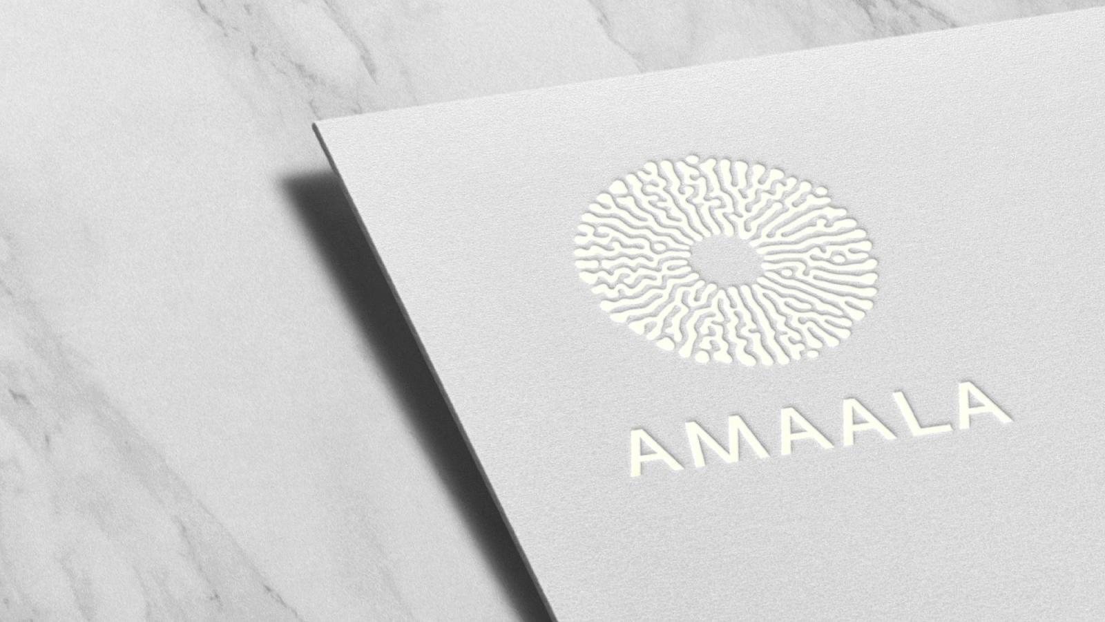 AMAALA brand logo