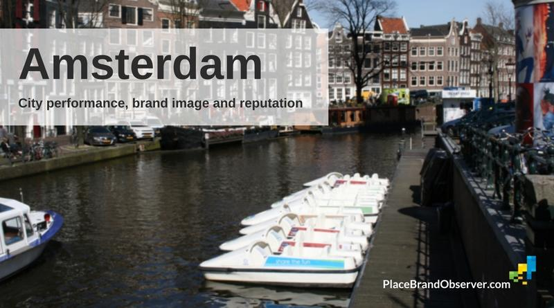 Amsterdam city performance, brand image, reputation