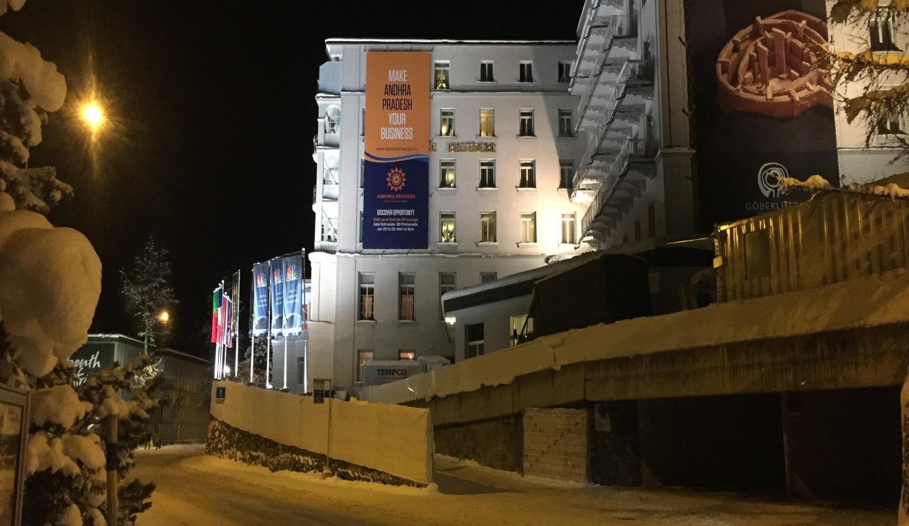 Andhra Pradesh brand positioning Davos 2016
