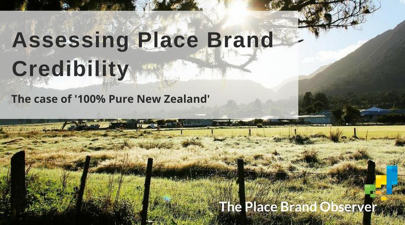 Assessing place brand credibility of '100% Pure New Zealand'