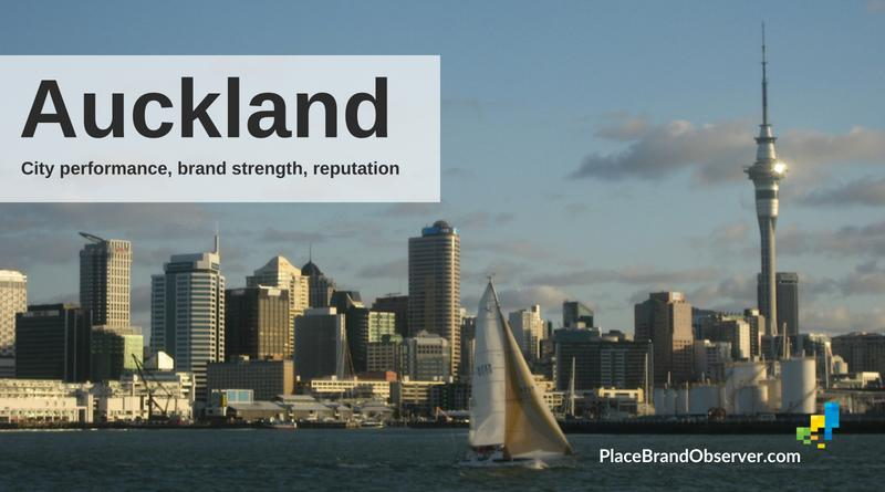 Auckland city brand strength, reputation