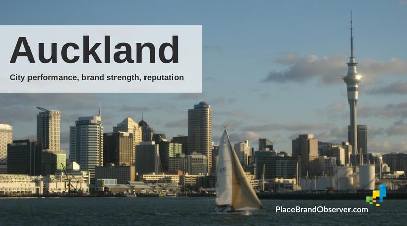 Auckland city brand strength, reputation