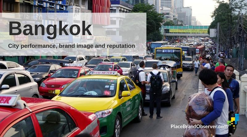 Bangkok city performance, brand image and reputation