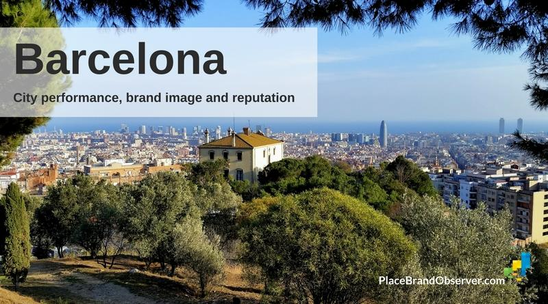 Barcelona city performance, brand image and reputation analysis