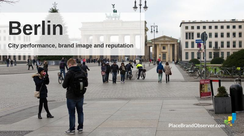 Berlin city performance, brand image and reputation