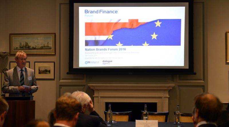 Brand Finance Nation Brands Forum 2016