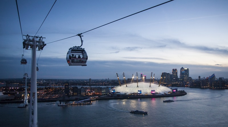 Brand Urbanism example Emirates Air Line London