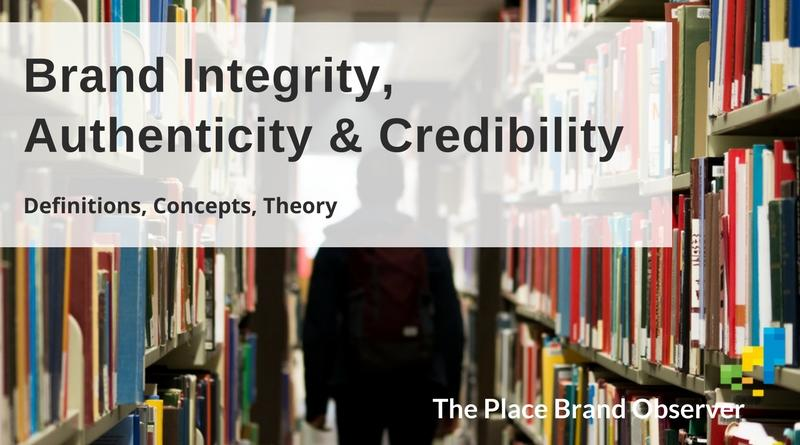 Brand integrity, authenticity and credibility explained: definitions, concepts, theory