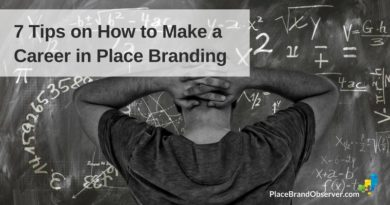 How to make a career in place branding