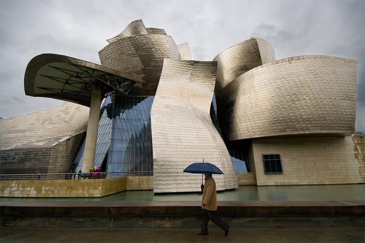 City branding example Guggenheim museum in Bilbao