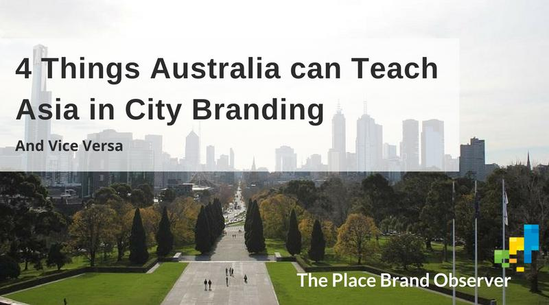 City branding lessons for cities in Australia and Asia
