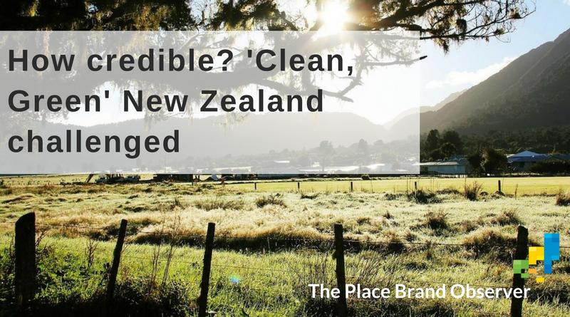 'Clean, green' New Zealand challenged
