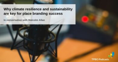 Malcolm Allan on climate change, sustainability and place branding