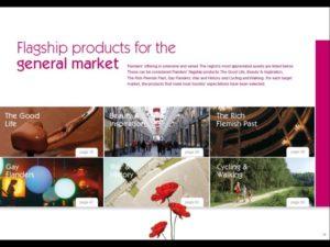 Combinación producto con mercado marca Flemish