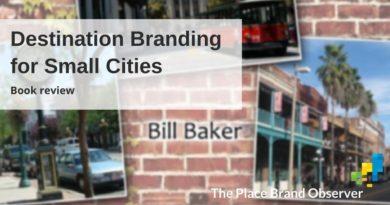 Destination Branding for Small Cities book by Bill Baker