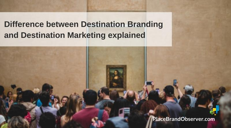 Difference between destination branding and marketing