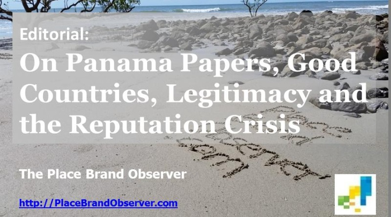 Editorial Panama Papers, Good Countries, Reputation Crisis