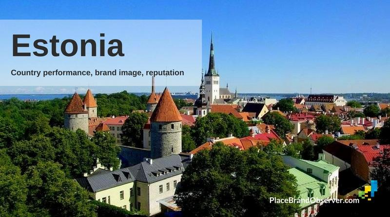 Estonia country performance, brand image, reputation analysis