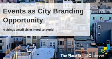 Events as city branding opportunity for small cities