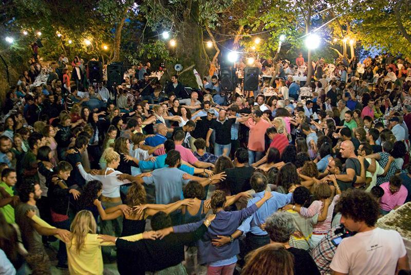 Festival in Ikaria, Greece