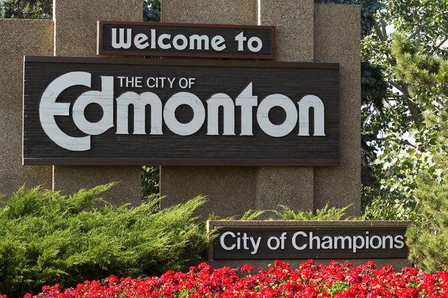 Former Edmonton city branding