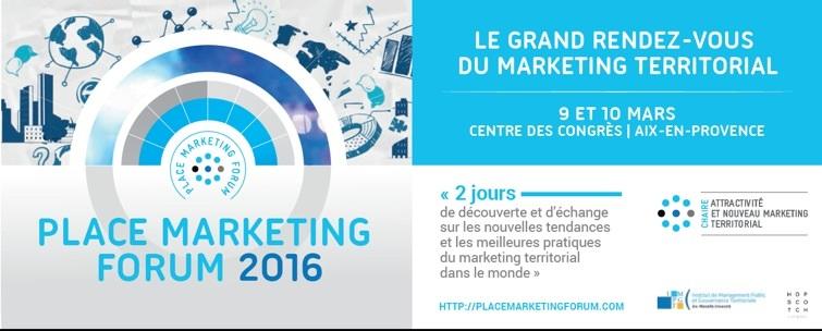 France Place Marketing Forum 2016
