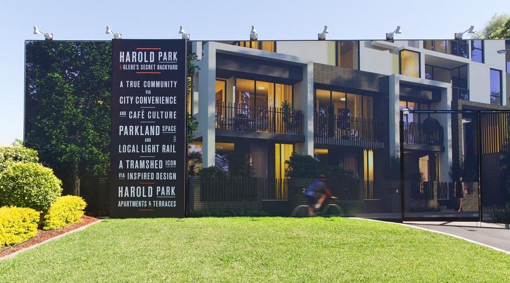 Harold Park - placemaking example Australia
