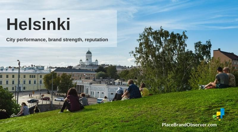 Helsinki city performance, brand strength, reputation