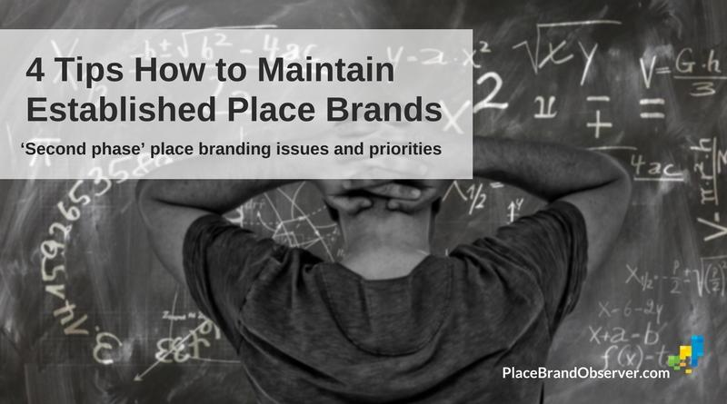 How to maintain established place brands: issues and priorities