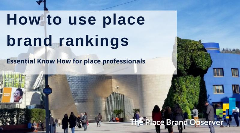 How to use place brand rankings