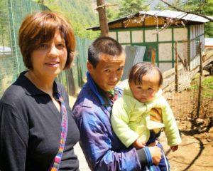 Aparna Sharma in Thimphu