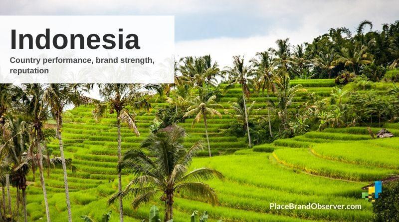 Indonesia country reputation brand strength rankings