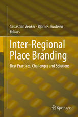 Inter-Regional Place Branding book by Sebastian Zenker and Björn Jacobsen (Eds)