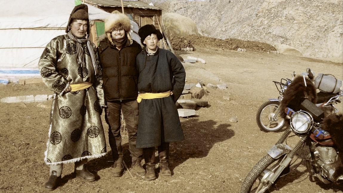 Jeremy Hildreth, the Indiana Jones of Branding, in Mongolia