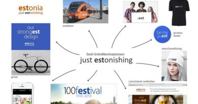 Just ESTonishing Estonia nation branding concept