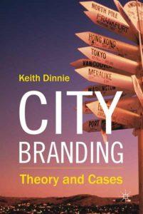 Libro sobre City branding de Keith Dinnie