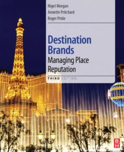 Libro sobre destination brands, managing place reputation