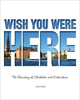 Libro sobre el branding de Stockholm y destinos