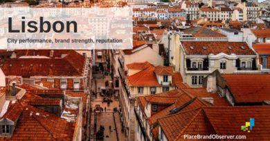 Lisbon city performance, brand strength and reputation