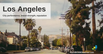 Los Angeles city performance, brand strength and reputation