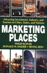 Marketing Places Book by Philip Kotler
