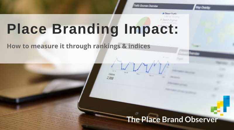 Measuring place branding impact: rankings and indices