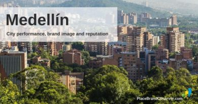 Medellín city performance, brand image and reputation analysis
