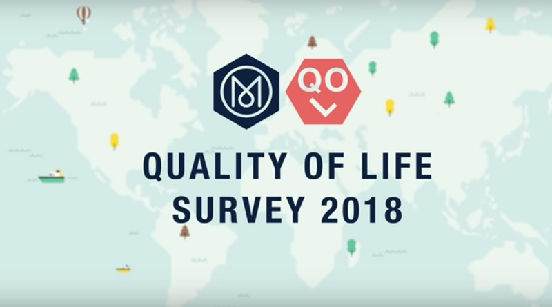 Monocle Magazine Quality of Life Survey: Top 25 Cities Ranking 2018