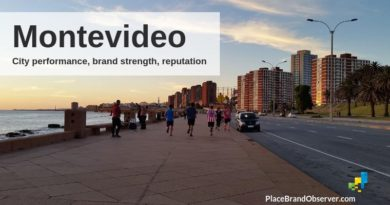 Montevideo city guide on economice performance, brand strength and reputation