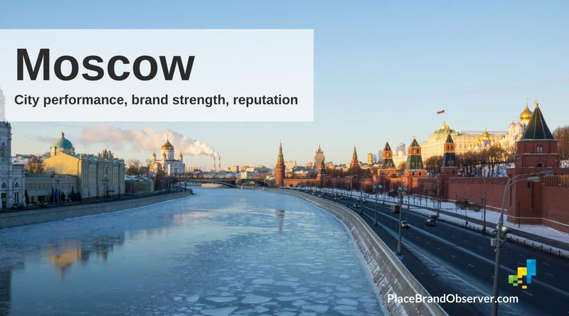 Moscow city performance, brand strength, reputation